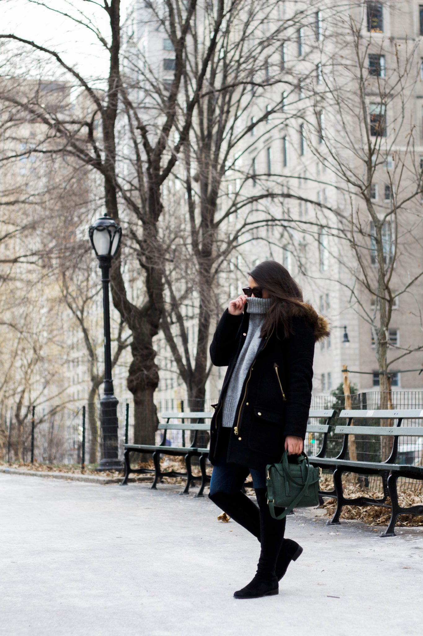 The Chateau Parka: The Best Winter Coat For A Woman On The Go by popular New York fashion blogger Live Laugh Linda