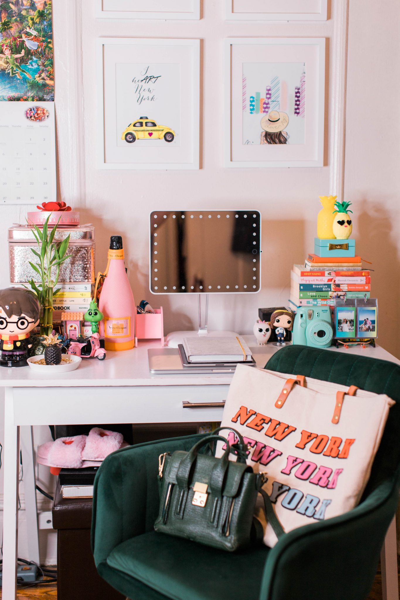 Small Office Space Ideas featured by top US life and style blogger Live Laugh Linda