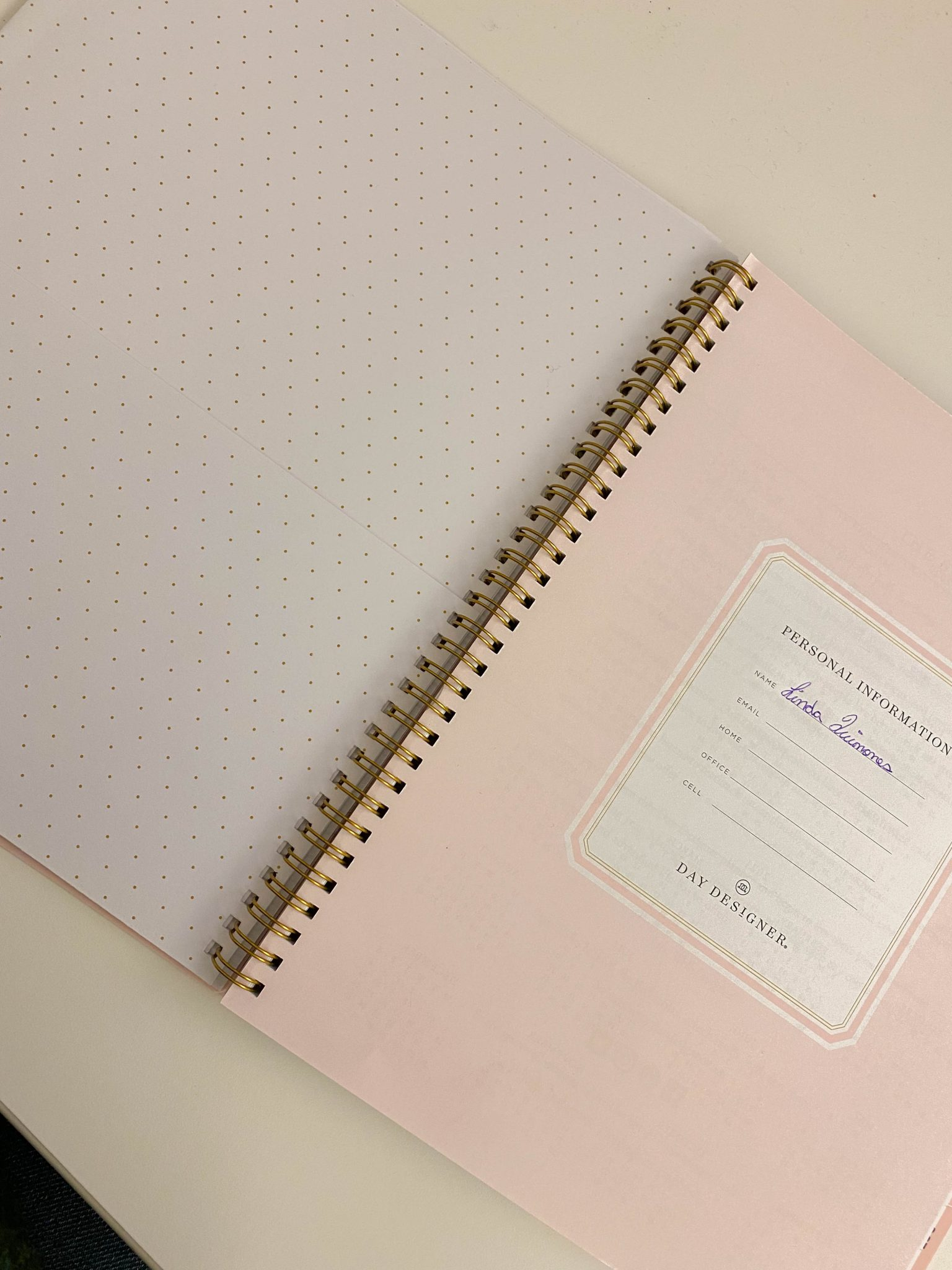 Week In Review :: A Friday Favorites Weekly Roundup by popular New York life and style blog, Live Laugh Linda: image of a Target planner.