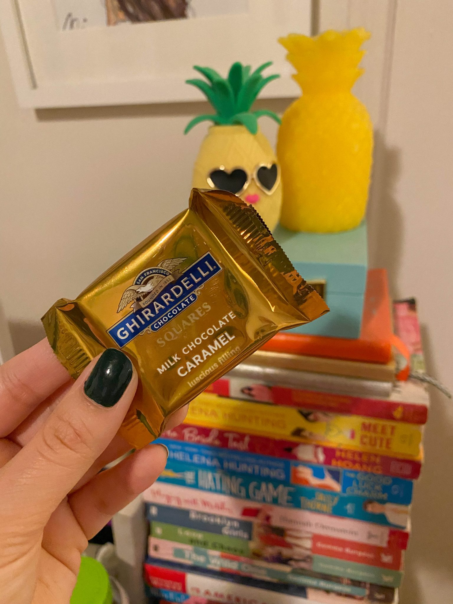 Week In Review :: A Friday Favorites Weekly Roundup by popular New York life and style blog, Live Laugh Linda: image of Ghiradelli caramel squares.