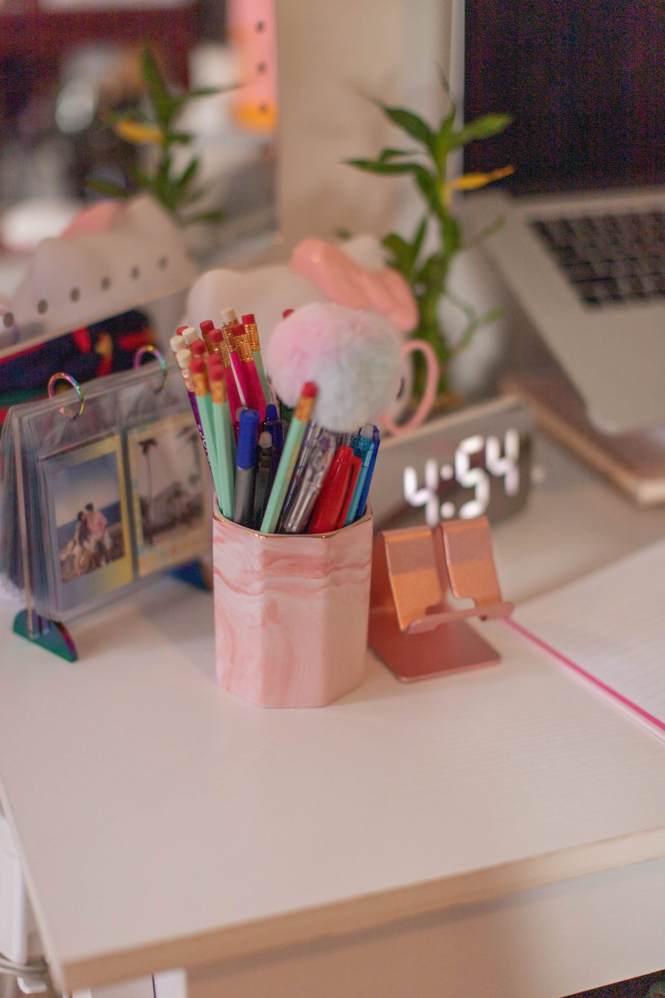 Redecorating My Small Office Space by popular NYC life and style blog, Live Laugh Linda: image of small office space in New York City apartment
