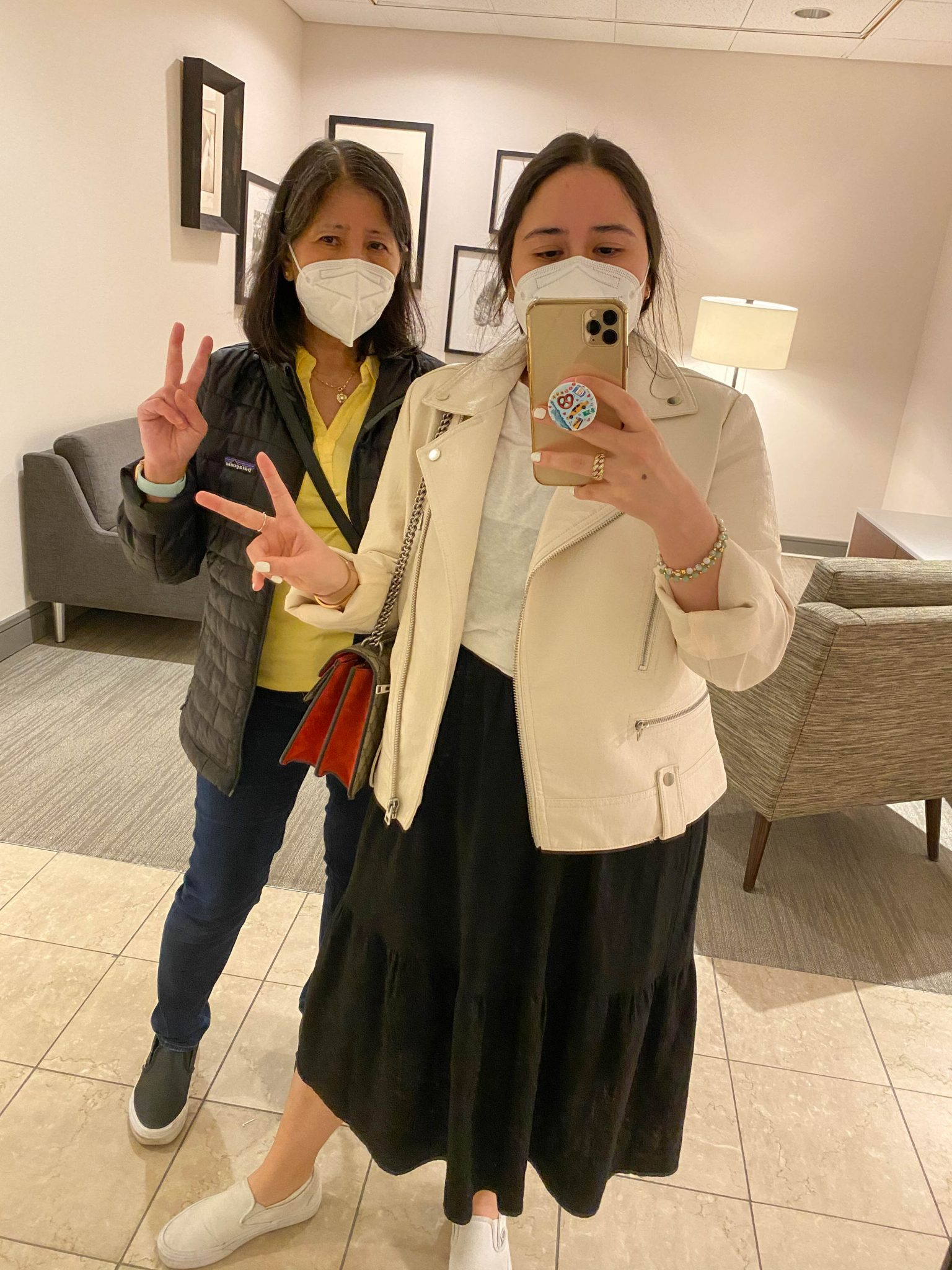 Life Lately July 2021 by Basically A Mess (photo of two women in Garden State Mall)