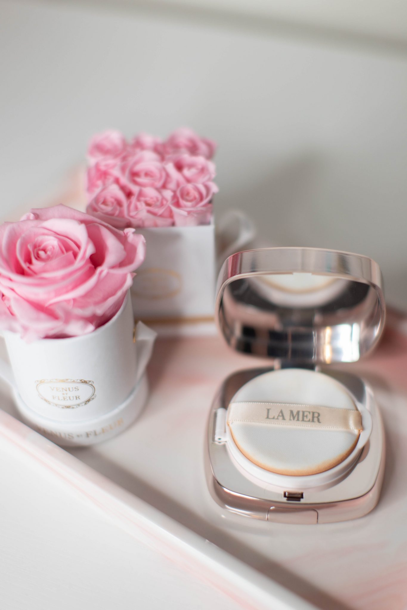4 Beauty Products I'm Loving by Basically A Mess (photo of beauty products you need to buy now, la mer cushion foundation review)