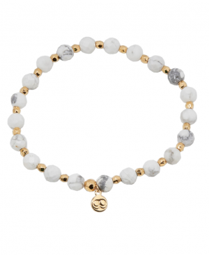 Power Stone Stretch Bracelet- Calming
