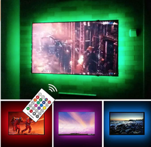 USB Powered LED Strip Lights TV Backlights Kit