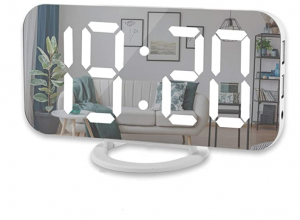 Modern Mirror Desk Clock