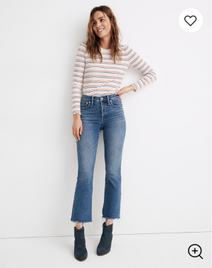 Cali Demi-Boot Jeans in Fleetwood Wash