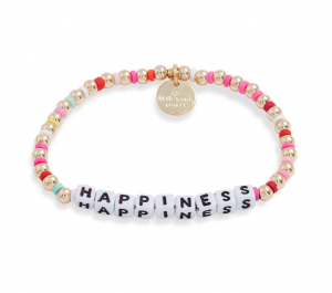 Happiness Beaded Stretch Bracelet